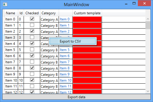 How to export data from a DataGrid in WPF | Magnus Montin